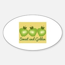 Sweet and Golden Decal