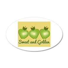 Sweet and Golden Wall Decal