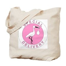 Pink Special Delivery Tote Bag