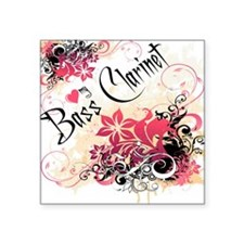 Heart-My_BassClarinet Sticker