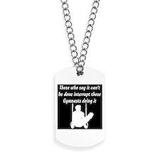 CHAMPION GYMNAST Dog Tags