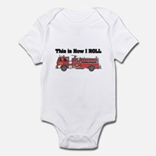 How I Roll (Fire Engine/Truck) Onesie