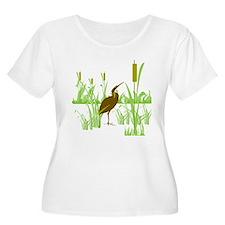 American Bittern Plus Size T-Shirt