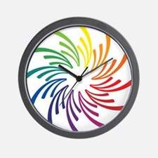 Cute Primary colors Wall Clock