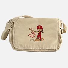 Play Ball! Messenger Bag