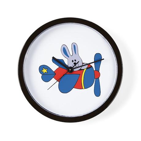 Aviator Bunny Wall Clock