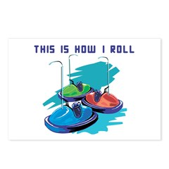 How I Roll (Bumper Cars) Postcards (Package of 8)