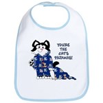 Cartoon cat Bib