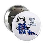Cartoon cat Button