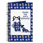 Cartoon cat Journal