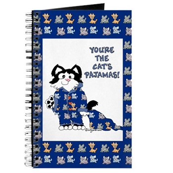 Cartoon cat Journal