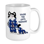 Cartoon cat Large Mug