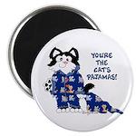 """Cartoon cat 2.25"""" Magnet (100 pack)"""