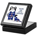 Cartoon cat Keepsake Box