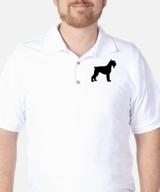 Schnauzer Dog Golf Shirt