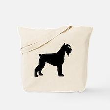 Schnauzer Dog Tote Bag