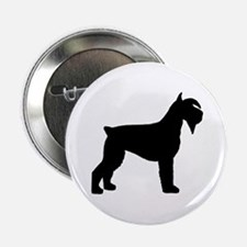 Schnauzer Dog Button