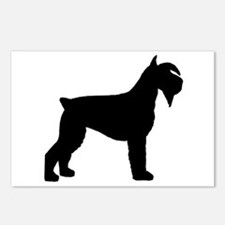 Schnauzer Dog Postcards (Package of 8)