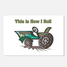 How I Roll (Farming Tractor) Postcards (Package of