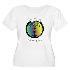 Live Your Light Plus Size T-Shirt