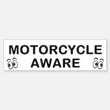 Motorcycle Aware Bumper Bumper Bumper Sticker
