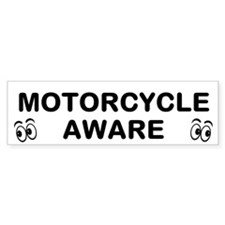 Motorcycle Aware Bumper Bumper Sticker