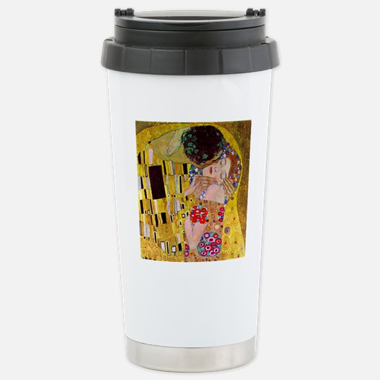 The Kiss detail, Gustav Stainless Steel Travel Mug