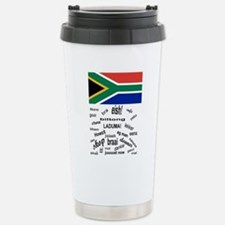 South African Slang Stainless Steel Travel Mug