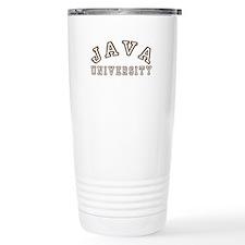 Java University Travel Mug