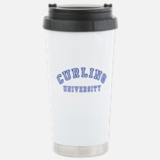 Curling University Travel Mug