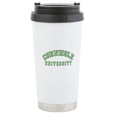 Cornhole University Travel Mug
