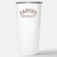 Canine University Stainless Steel Travel Mug