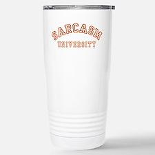 Sarcasm University Stainless Steel Travel Mug