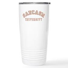 Sarcasm University Travel Mug