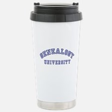 Genealogy University Stainless Steel Travel Mug