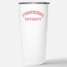 Pyrotechnic University Stainless Steel Travel Mug