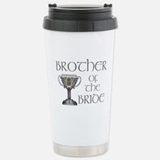 Celtic Brother Bride Travel Mug
