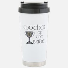 Celtic Mother Bride Stainless Steel Travel Mug