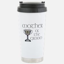 Celtic Mother Groom Stainless Steel Travel Mug