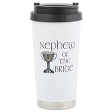 Celtic Nephew of the Bride Travel Mug