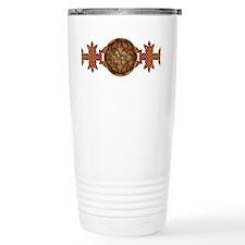 Celtic Knotwork Enamel Travel Mug
