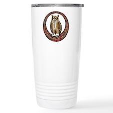 Celtic Owl Travel Mug
