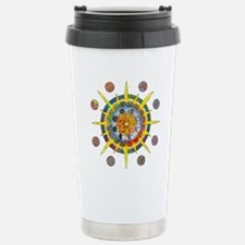 Celtic Stargate Stainless Steel Travel Mug