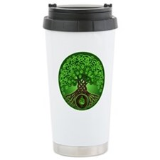 Circle Celtic Tree of Life Travel Mug
