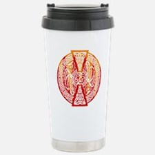 Celtic Dragons Fire Travel Mug