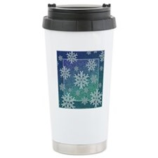 Celtic Snowflakes Travel Mug