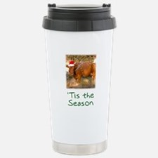 Cow Christmas Travel Mug