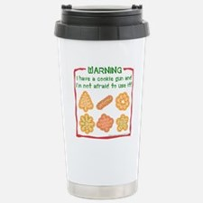 Christmas Cookies Stainless Steel Travel Mug