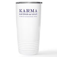 Karma Savings and Loan Travel Mug