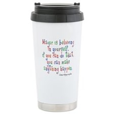 Magic Believe In Yourself Thermos Mug